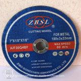 金属または鋼鉄180X3X22.2のための研摩ディスク