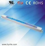 Fuente de alimentación de interior de largo delgada de 20W 12V LED