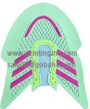 Il nuovo modo mette in mostra la mascherina di calzatura che fa la macchina con la posizione 4 per grande capienza