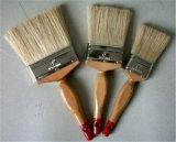Смешивание синтетической и чисто ручки щетки краски щетинок деревянной