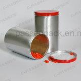 Роскошный алюминиевый опарник для упаковывать шоколада подарка (PPC-AC-019)