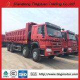 12 camion à benne basculante de Sinotruk HOWO de roues avec le prix bas