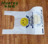 Impressão personalizada T-shirt sacos de plástico no rolo