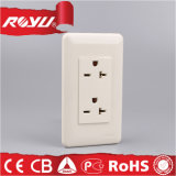 Saudi-Arabië Market GFCI 2gang Wall Outlet Sockets