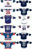 Настроенные Мужчины Женщины дети Kontinental хоккейной лиги Сибирь Новосибирск 2008-2013 Хоккей Джерси