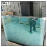 6-12mm Normal Le verre trempé clair personnalisés pour les projets de construction