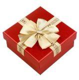 Rectángulo de regalo hecho a mano impreso modificado para requisitos particulares del papel de la joyería para el embalaje (FLB-9353)