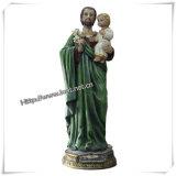 Het in het groot Katholieke Godsdienstige Standbeeld van Punten van Moeder Mary (iO-Ca024)