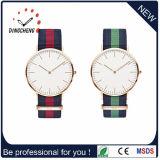 O Special do OEM da forma personaliza o relógio de pulso de nylon da faixa do logotipo (DC-832)