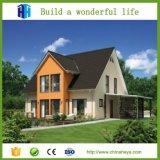 A elevação pequena simples de aço clara da casa da casa de campo projeta plantas