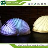 4개의 색깔 빛을%s 가진 도매 소형 책 모양 LED 램프