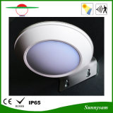 Indicatore luminoso solare esterno della parete del sensore di movimento del radar di a microonde della lampada del giardino di energia solare del prodotto 16 LED di illuminazione