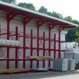 Rack de aço Cantilever paletes adequado para depósito exterior