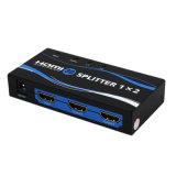 Оригинал 1 высокого качества в 2 вне Splitter 1X2 HDMI с 3D 1080P