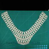 Mode de gros de la broderie de la Dentelle au crochet de coton Collier Collier Textile tissu
