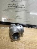 Válvula de verificação rosqueada do balanço do aço inoxidável