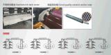 Roulis chaud à grande vitesse de vente au type couleur de pile de roulis du sachet en plastique de polythène 6
