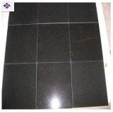 Mattonelle nere del granito dello Shanxi della natura per la casa ed i materiali da costruzione