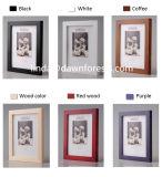 卸し売りWooden/MDFの額縁のホーム装飾の6/7インチの写真フレーム