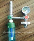 Regulador Médico de Pressão do Regulador de Oxigênio com Medidor de Fluxo para Cilindro de Oxigênio Equipamento Médico