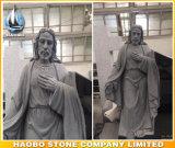 Cuore sacro del Headstone della statua del Jesus
