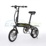 18kg重量が付いている電気Eの自転車を折る14inchポケット