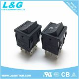StiftDpst 16A250VAC Wippenschalter der UPS-Energien-2 der Positions-4
