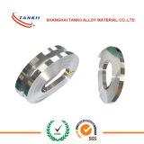 Tira NS112 de la plata de níquel de la aleación de níquel de cobre