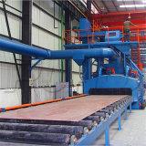 Beglaubigter Stahlplatten-Rollen-Förderanlagen-Granaliengebläse-Maschinen-Preis