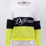 가을과 겨울 여자 Fleeve 인쇄 Hoodies 여자 우연한 Hoodie 스웨트 셔츠