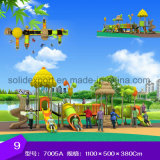 Новаторский дизайн большой длинный бассейн для детей игровая площадка слайдов