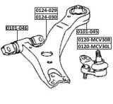 Braço de controle do eixo dianteiro mais baixo para Toyota Camary 48069-33050/48068-33050