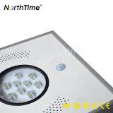 Giardino bianco freddo di alta luminosità che illumina gli indicatori luminosi di via solari Integrated