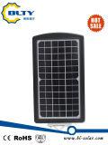 réverbère solaire de 10W DEL avec le panneau solaire