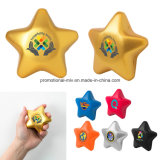 Bola de estresse promocional PU Toys Stress Star Shaped Toys