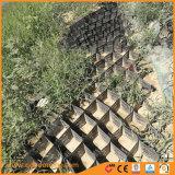 Geotêxteis permitem que o ar e a água circular livremente em toda a célula