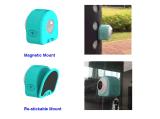 125 graus IP66 Waterproof a câmera magnética da ação de WiFi