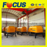 Capacidade de entrega de alta qualidade 81m3/H- 88m3/H de concreto de gasóleo da bomba do Reboque