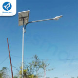 Indicatore luminoso di via solare certificato Ce del LED con alto potere