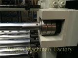 Plástico que corta e máquina do rebobinamento