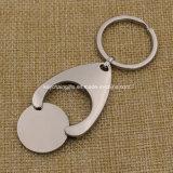 Metallo Key Chain Coin Holder con Customized Logo