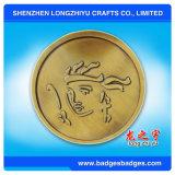 Moneta del metallo di alta qualità di disegno di modo al prezzo poco costoso