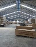 Folheado de madeira natural enfrentados MDF ou HDF Porta Molde pele para o mercado do Quênia
