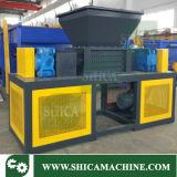 120HP大きい容器のための二重モーターを搭載する大きい2つのシャフトのシュレッダー