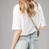Мода белые женские футболки с высоким качеством