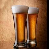 Tazza bevente di vetro promozionale di vetro di vetro di birra della tazza di birra della tazza di birra
