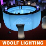 Contatore locativo della barra rotonda della mobilia di RGB LED per l'hotel