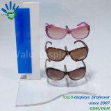 Présentoir acrylique fait sur commande de lunettes de soleil, crémaillère d'étalage de lunettes de soleil