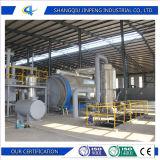 Plastique et pneu de rebut environnementaux à l'usine d'essence et d'huile de pyrolyse