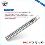 crayon lecteur de Vape du nécessaire Ce3 de chauffage du réservoir 0.5ml en verre mini de mazout réutilisable portatif en céramique de Cbd
